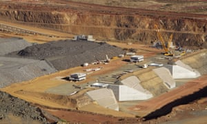 The CITIC Pacific mine outside of Karratha in Western Australia