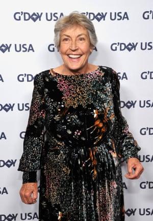 Helen Reddy in California last year.