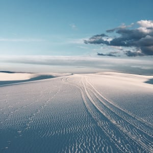 White Sands National Monument in New Mexico won first place for Junfeng Wang of Shanghai, China in Nature