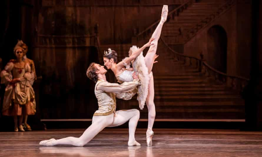 Cut-glass sparkle ... Matthew Ball as Prince Florimund and Yasmine Naghdi as Aurora in The Sleeping Beauty.