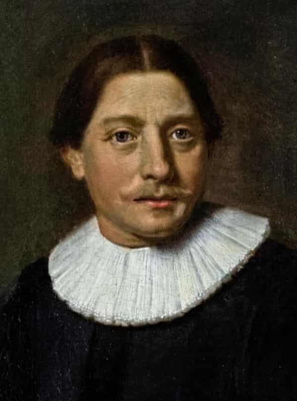 Abel Tasman (1603-1659) Dutch maritime explorer, and merchant who was the first known European explorer to reach the islands of Van Diemen's Land (now Tasmania) and New Zealand, and to sight the Fiji islands during his voyages of 1642 and 1644 in the service of the Dutch East India Company. Detail from the oil painting of Abel Tasman, his wife and daughter painted circa 1637 by Jacob Gerritszoon Cuyp (1594-1652).Abel Tasman (1603-1659) Dutch maritime explorer, and merchant who was the first known European explorer to reach the islands of Van Diemen's Land (now Tasmania) and New Zealand, and to sight the Fiji islands during his voyages of 1642 and 1644 in the service of the Dutch East India Company. Detail from the oil painting of Abel Tasman, his wife and daughter painted circa 1637 by Jacob Gerritszoon Cuyp (1594-1652).