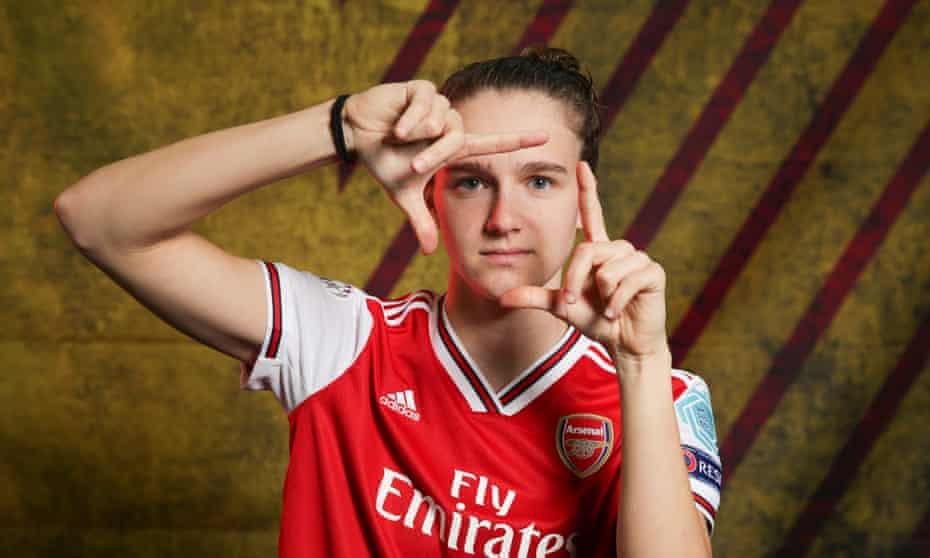 Vivianne Miedema of Arsenal.