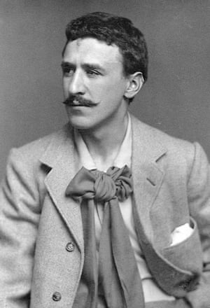Not bothered by budgets … Mackintosh in 1893.