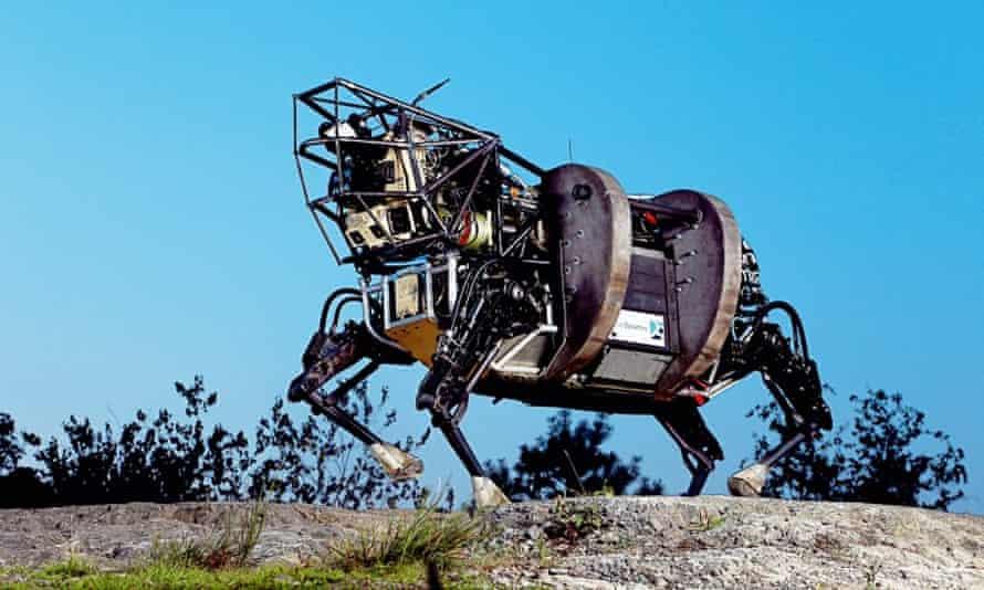 Dog robot Boston Dynamics