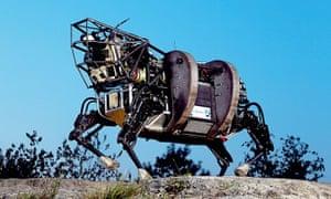 Boston Dynamics earned notoriety for its 'BigDog' line of quadrupedal robots.