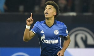 Thilo Kehrer celebrates scoring against Hoffenheim.