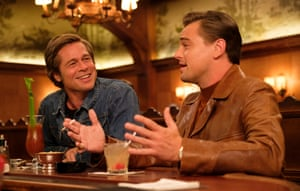 Brad Pitt and Leonardo DiCaprio Once Upon a Time in Hollywood.