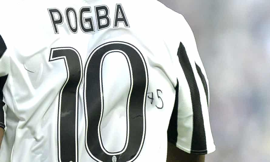 Paul Pogba's dedication to Pelé.
