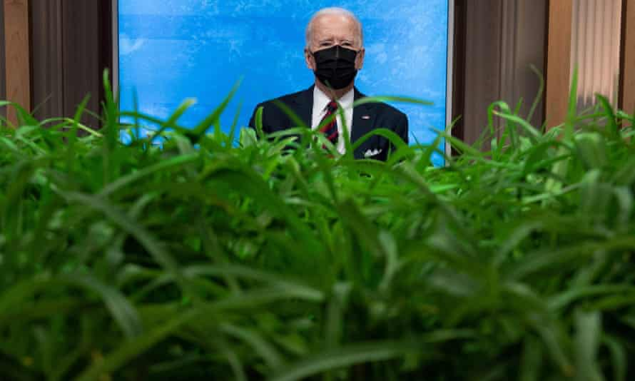 Biden at the White House on Friday.