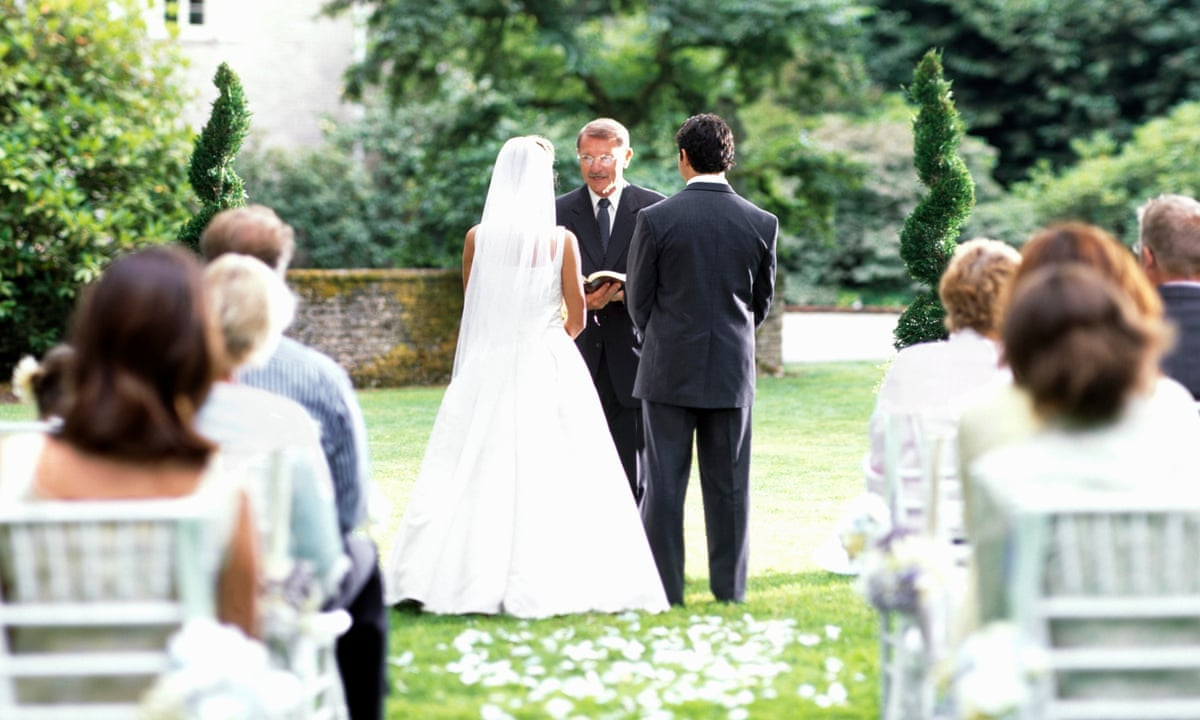 Couples across UK could soon be allowed to marry outdoors   Weddings   The  Guardian