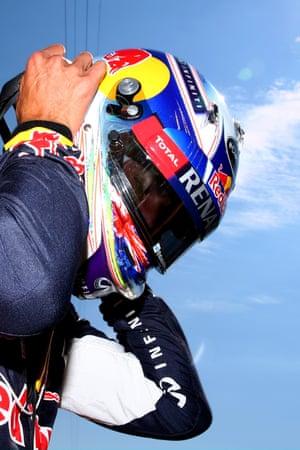 Daniel Ricciardo retires with a power failure.