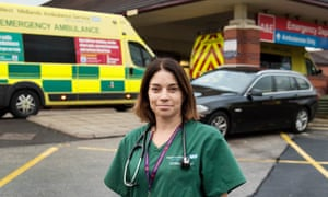Katie Wright, A&E consultant at Birmingham's Heartlands hospital, has been alarmed by the scale of knife crime and the young age of those involved.
