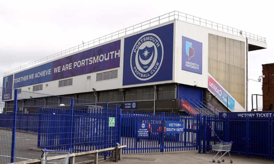 Portsmouth's Fratton Park stadium.