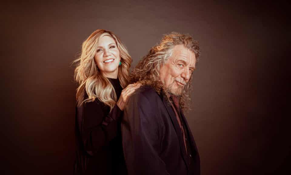 Alison Krauss and Robert Plant at Sound Emporium in Nashville