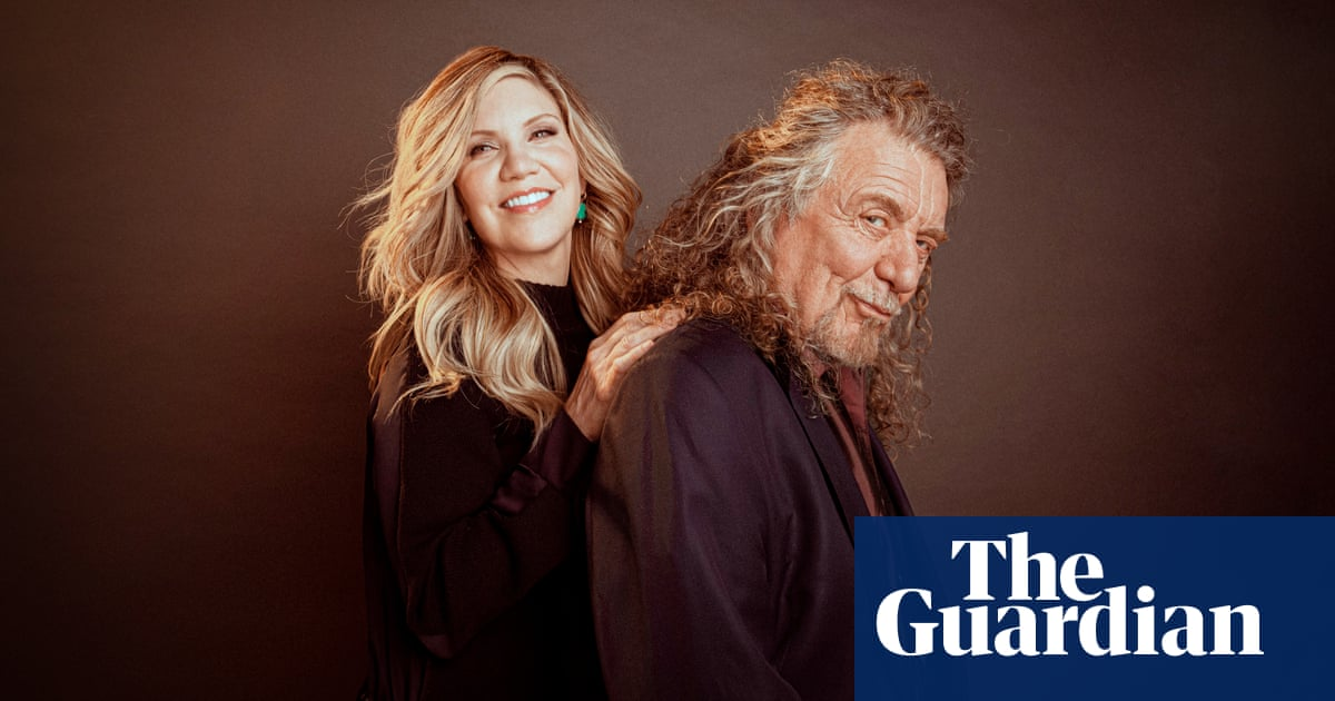 'We're like Mork and Mindy!' Robert Plant and Alison Krauss, music's odd couple