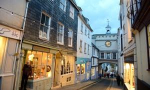 Totnes, Devon.