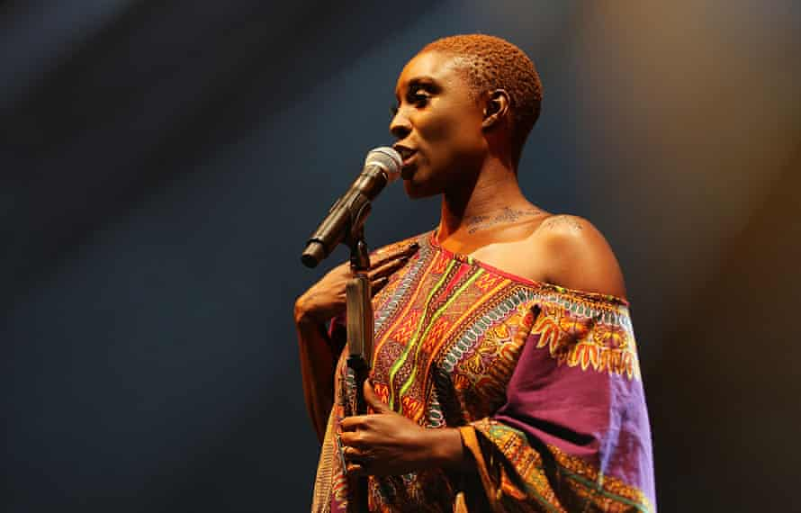 Right on song: at the Womad Festival in Malmesbury in July 2015.