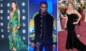 Jennifer Lopez, Kanye West and Beyoncé