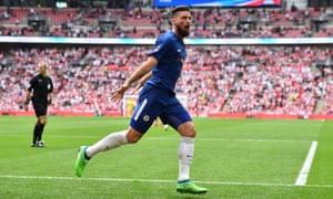 Olivier Giroud Dances Past Saints To Send Chelsea Into FA Cup Final