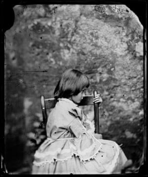 Alice Liddell, 1858, by Lewis Carroll