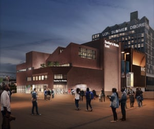 Artist's impression of the planned new Sadler's Wells theatre