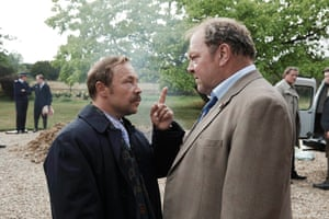 Stephen Graham and Mark Addy in White House Farm.