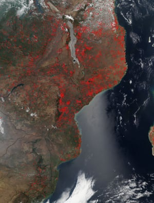 East African agricultural fires