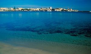 Sea And Village. Marzamemi