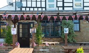 The Greyhound pub in Eton Wick, Berkshire
