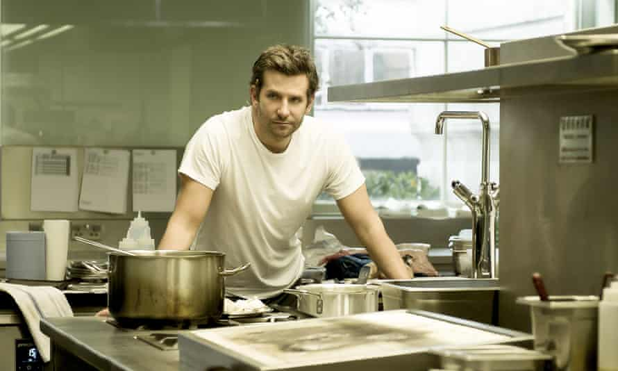 Bradley Cooper as Adam Jones in Burnt.