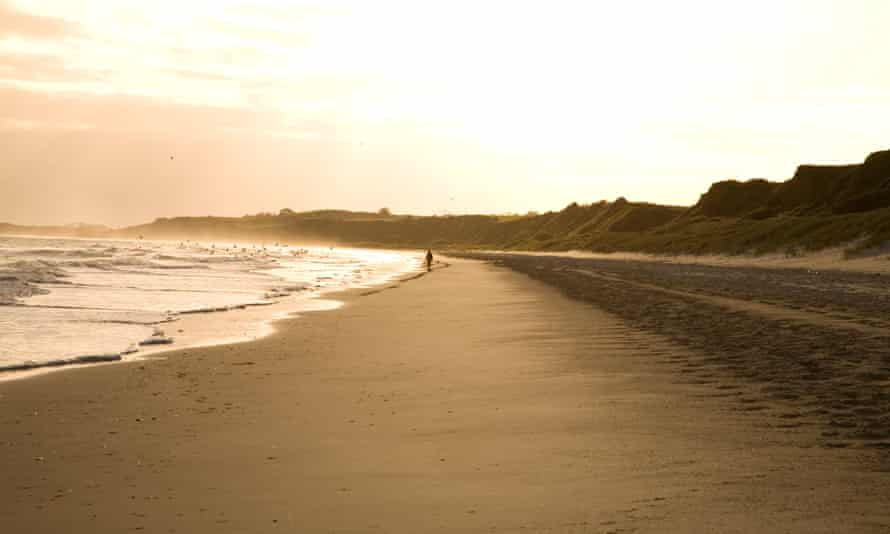 Blackwater beach in County Wexford.