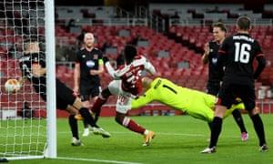 Nketiah scores for Arsenal