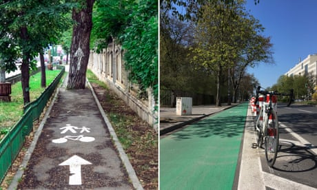 'Do I risk it?' Your photos of the world's best and worst cycling infrastructure