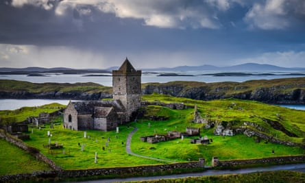 St Clement's church on Lewis and Harris in the Outer Hebrides