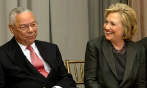 Hacked Colin Powell emails jolt presidential race | US news