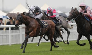 Circus Maximus and Ryan Moore winning the St James Palace Stakes.