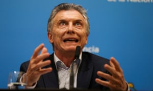 Conservative president Mauricio Macri is said to have lost touch with both the poor and the middle class.