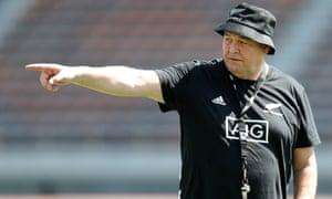 All Blacks coach Steve Hansen