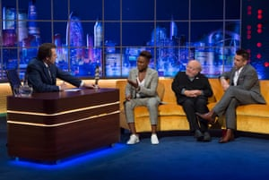 Nicola Adams' charisma has meant that she has frequently been on our TV screens since her first Olympic title. Here she is on 'The Jonathan Ross Show' with Danny DeVito and Colin Farrell