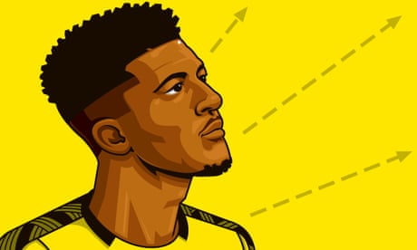 Jadon Sancho holds all the cards as Dortmund look to cash in on his promise