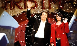 Hugh Grant and Martine McCutcheon in Richard Curtis's hugely successful 2003 film Love Actually.