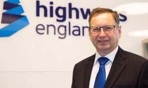 The chief executive of Highways England, Jim O'Sullivan, is encouraging people to read the report on cars of the future.