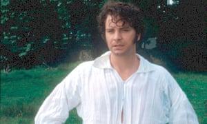Colin Firth as Mr Darcy in Pride and Prejudice.