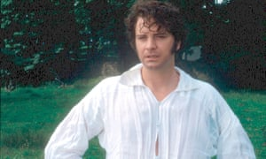 A manly Austen … Colin Firth as Mr Darcy in Andrew Davies' TV adaptation of Pride and Prejudice.