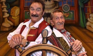 'We're Captain Hook's mates' … the Chuckle Brothers in Peter Pan.
