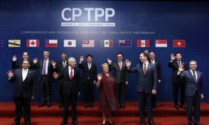 The Trans-Pacific Partnership was signed by Australia's trade minister Steve Ciobo in Chile on Friday.