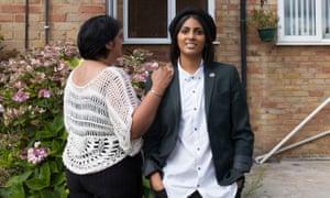Sara and her mum, Sharmila