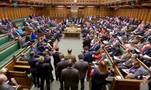 MPs in the Commons after the Speaker, John Bercow, announced the results of the second round of indicative votes.