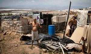 El Barranquete shantytown, Nijar (Almería) inside the 'Plastic Sea'.