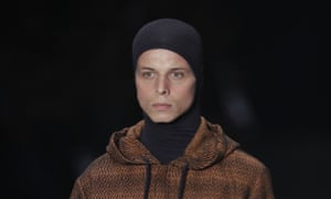 Tales Soares on the catwalk in Sao Paulo on Friday. he died on Saturday after falling ill, organisers said.